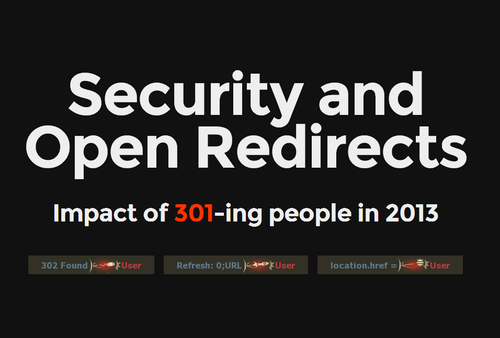 Security & Open Redirects
